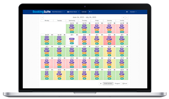 Sistem Hotel Software PMS-  BookingSuite Screen
